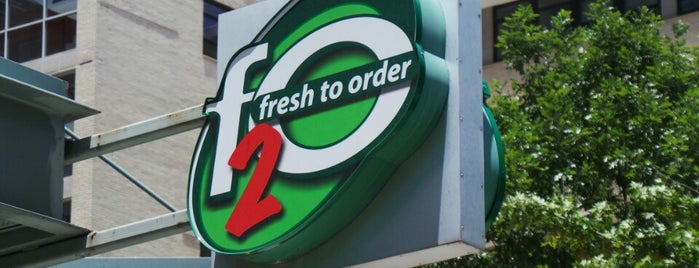 f2o - Fresh to Order is one of To Do Restaurants.