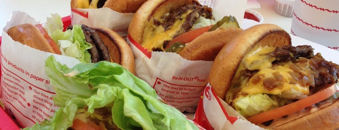 In-N-Out Burger is one of california dreaming.