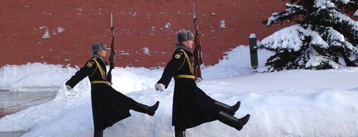 Kremlin Wall is one of Tempat yang Disukai Michael.