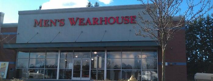 Men's Wearhouse is one of สถานที่ที่ Stephen ถูกใจ.