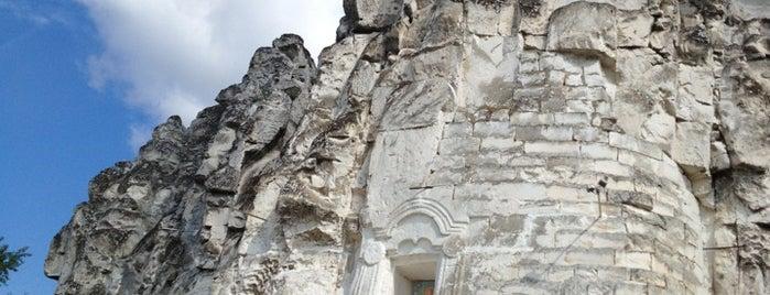Пещерный храм Сицилийской иконы Божьей Матери is one of Воронеж.