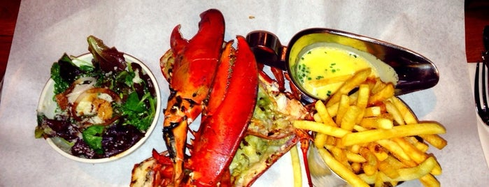 Burger & Lobster is one of London.