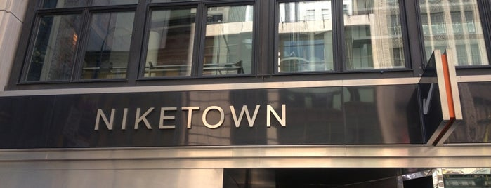 Niketown is one of NY JB.