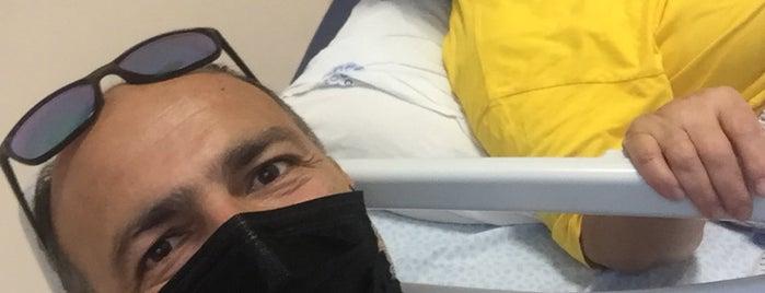 Dokuz Eylül Üniversitesi Hastanesi Hematoloji-Onkoloji Binası is one of 🌟🌟🌟TC Dogan : понравившиеся места.