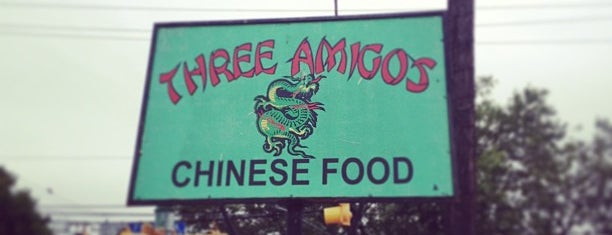 Three Amigos Chinese Restaurant is one of Tempat yang Disukai Jaysyn.