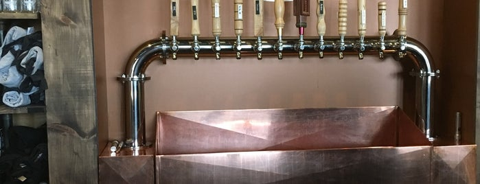 Copper City Brewing Company is one of CraftBeer.com's Best Craft Beer Bar in Every State.