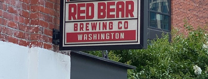 Red Bear Brewing Co is one of New DC Spots.