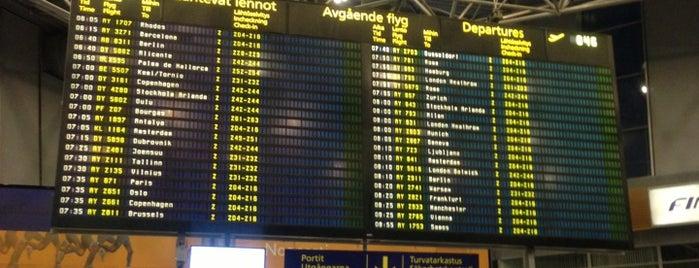 Helsinki Airport (HEL) is one of Skyfall.
