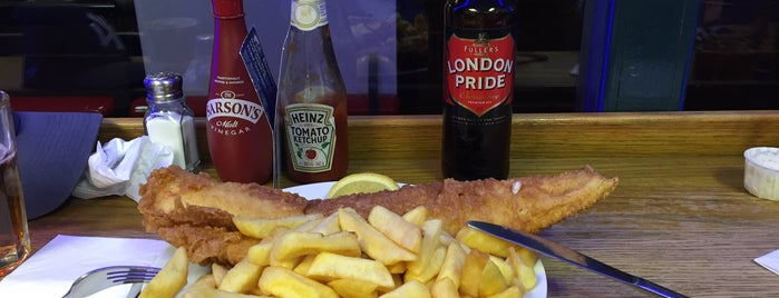 Baileys Fish & Chips is one of U.K..