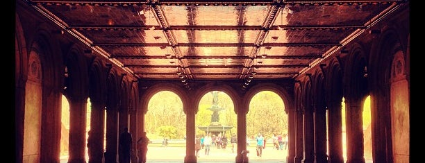 Bethesda Terrace is one of #NYC2017.