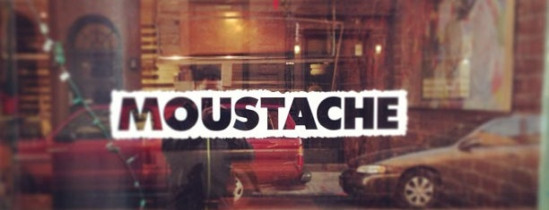 Moustache Pitza is one of NYC Restaurants: To Go.