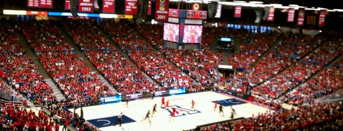 McKale Center is one of Events To Visit....