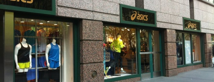 ASICS is one of Shopping.