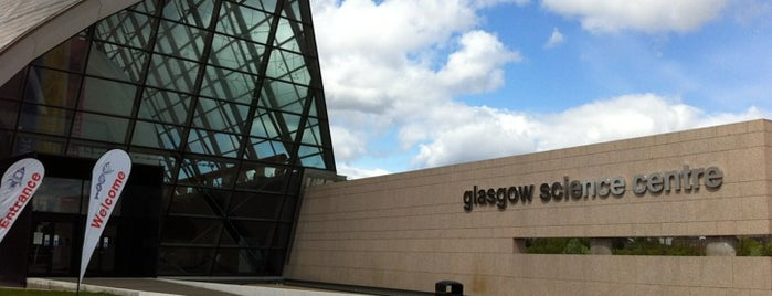 Glasgow Science Centre is one of Де.