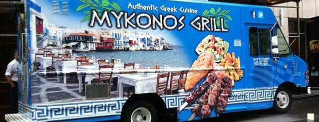 Mykono's Grill is one of Lieux qui ont plu à Andrew.