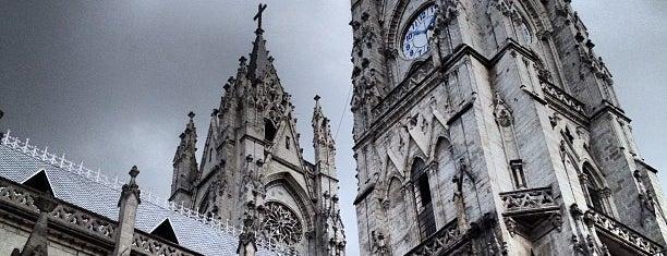 La Basílica Del Voto Nacional is one of Food & Fun - Quito.