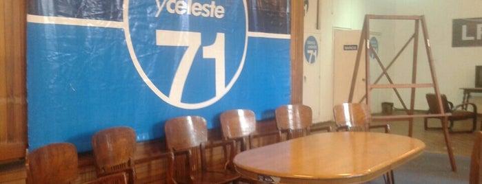 Sede Lista 71 is one of Yael'in Kaydettiği Mekanlar.