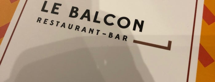 Le Balcon is one of Paris : best spots.