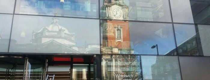 Woolwich Centre Library is one of Tempat yang Disimpan Deborah Lynn.