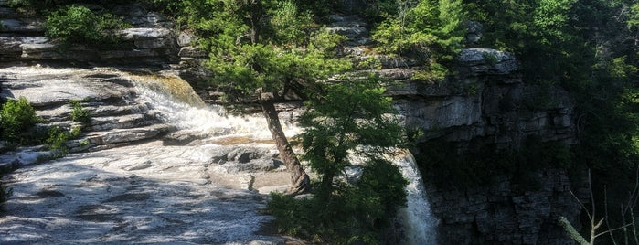 Awosting Falls is one of Tri-State Adventures.