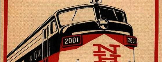 Amtrak - Train 172 is one of Trainspotter Badge.