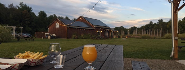 Arrowood Farm Brewery is one of Mid Hudson valley.