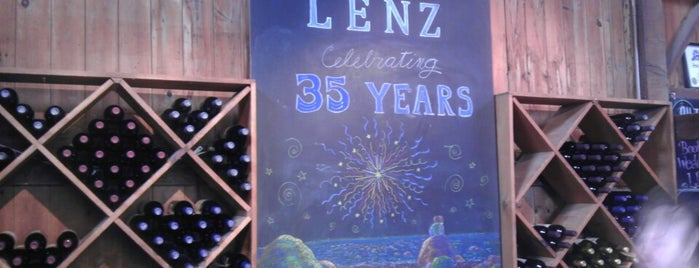 The Lenz Winery is one of Long Island.