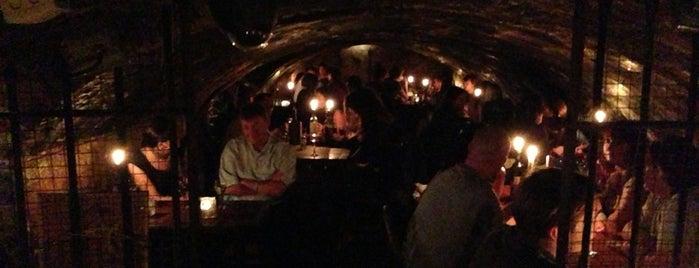 Gordon's Wine Bar is one of An Aussie's fav spots in London.