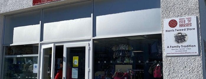 Harris Tweed Shop is one of Scotland 2017.