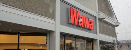 Wawa is one of Lieux qui ont plu à Maddie.