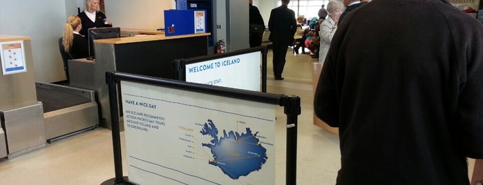 Flughafen Reykjavik (RKV) is one of Reykjavík City Guide.