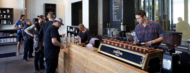 Stumptown Coffee Roasters is one of Lieux sauvegardés par Kelsey.