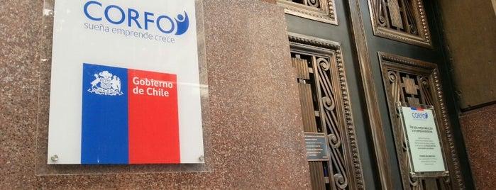 Corporación de Fomento de la Producción - CORFO is one of Orte, die Paola gefallen.