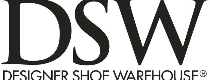 DSW Designer Shoe Warehouse is one of Tempat yang Disukai Merilee.