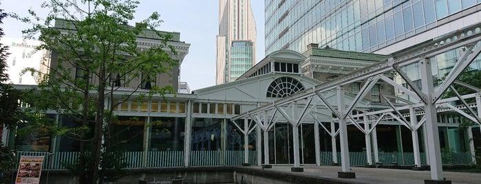 旧新橋停車場跡(駅舎玄関遺構) is one of 西郷どんゆかりのスポット.