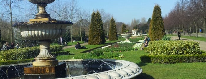 Park Square Gardens is one of London Nature.