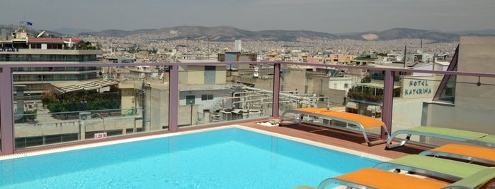 Novus City Hotel is one of Athens 2014.