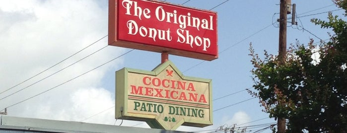 Original Donut Shop is one of San Antonio.