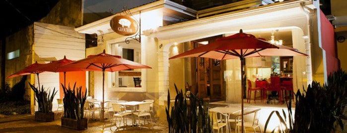 Glouton is one of Ótimos Restaurantes de Belo Horizonte.