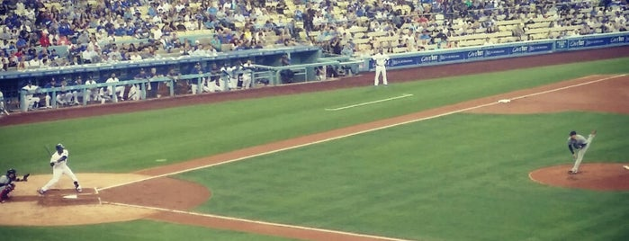 Dodger Stadium is one of Posti che sono piaciuti a Jennifer.