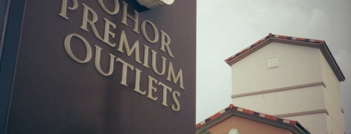 Johor Premium Outlets is one of karinarizal's Liked Places.