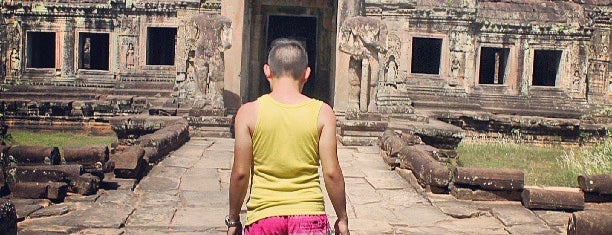 Preah Khan is one of Unforgettable Siem Reap.