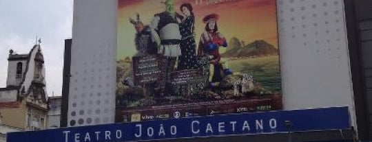 Teatro João Caetano is one of Fabiano : понравившиеся места.