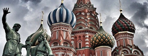 St. Basil's Cathedral is one of Russia10.