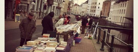 Boekenmarkt is one of Zondag in Gent.