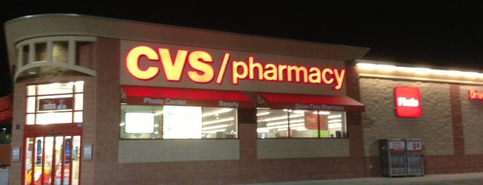 CVS pharmacy is one of frequent. haunts.
