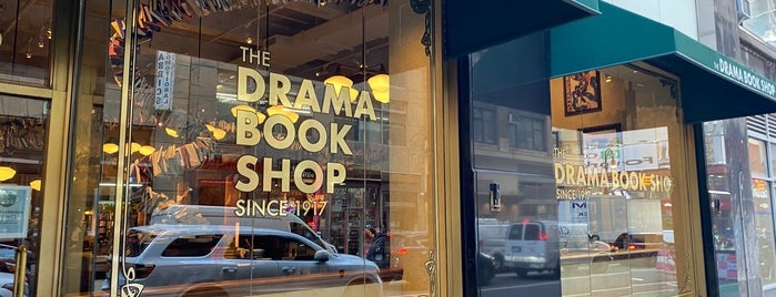 The Drama Book Shop is one of New York stuff.