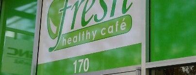 Fresh Healthy Cafe is one of Orte, die Bayana gefallen.