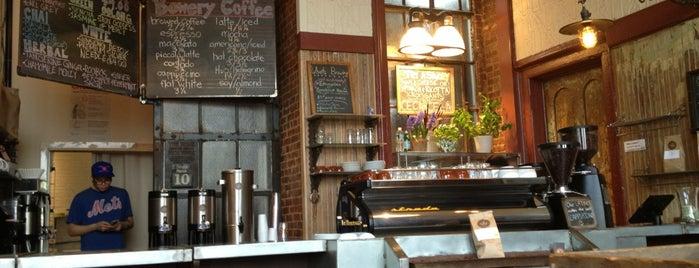 Bowery Coffee is one of NYC- Coffee.