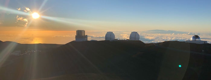 Keck I Observatory is one of Hawaii.